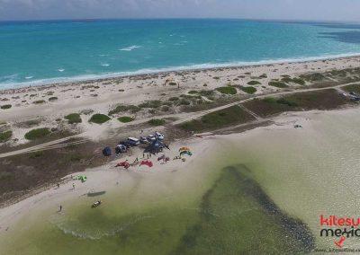Isla-Blanca-kiteboarding-beach
