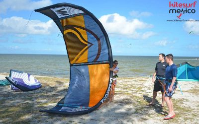 Differences between a C-kite and a hybrid kite