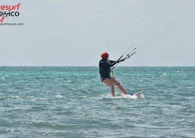 beginner kiteboarding
