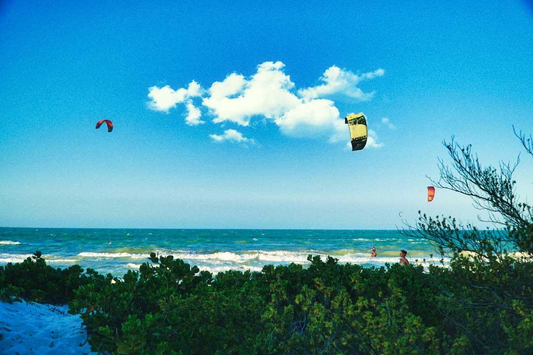 el cuyo kiteboarding
