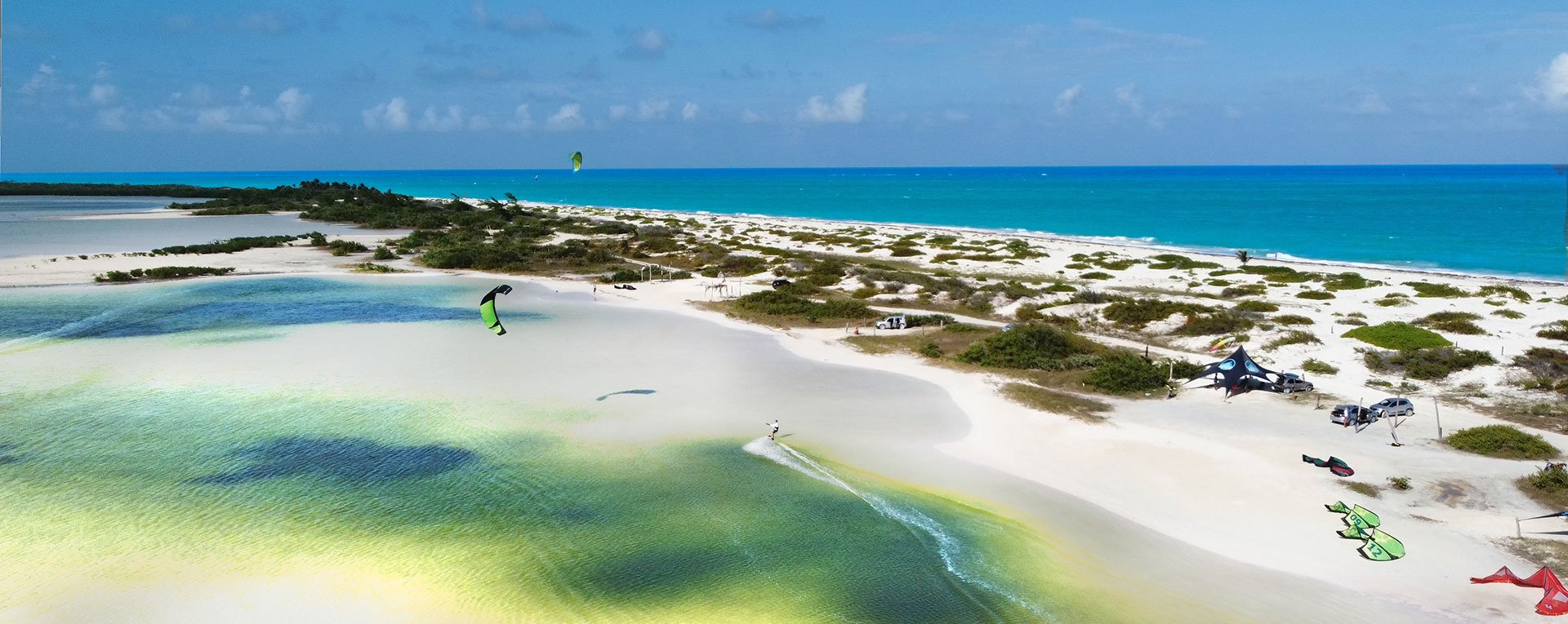kiteboarding school Cancun