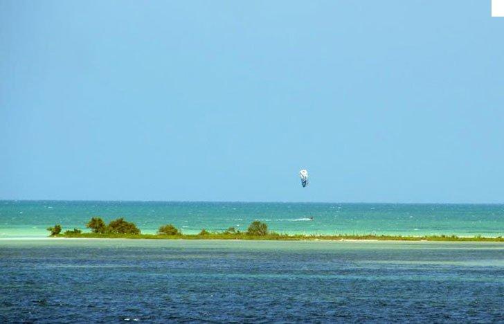 San Felipe kiteboarding spot